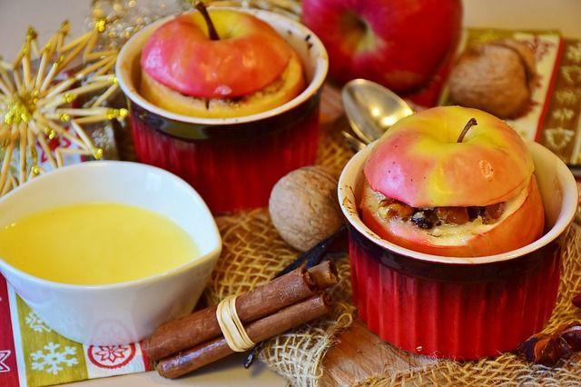 Plněná pečená jablka