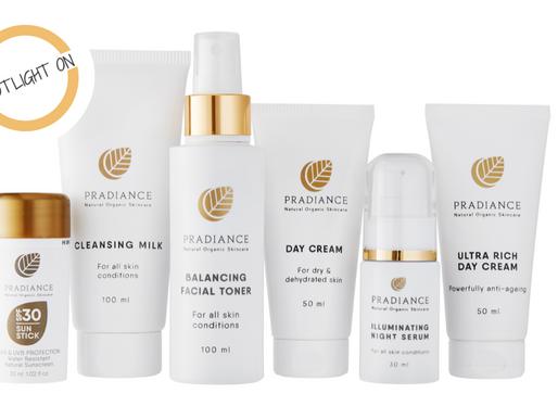 Spotlight On   Pradiance, a skincare range that works!