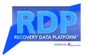 Recovery Data Platform logo.