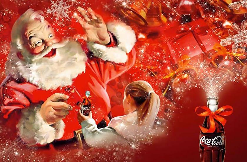 Anuncio de Coca-Cola: Santa Claus.