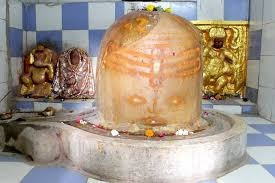 this image is abouth the shivling that is situated in kuber temple mandsaur
