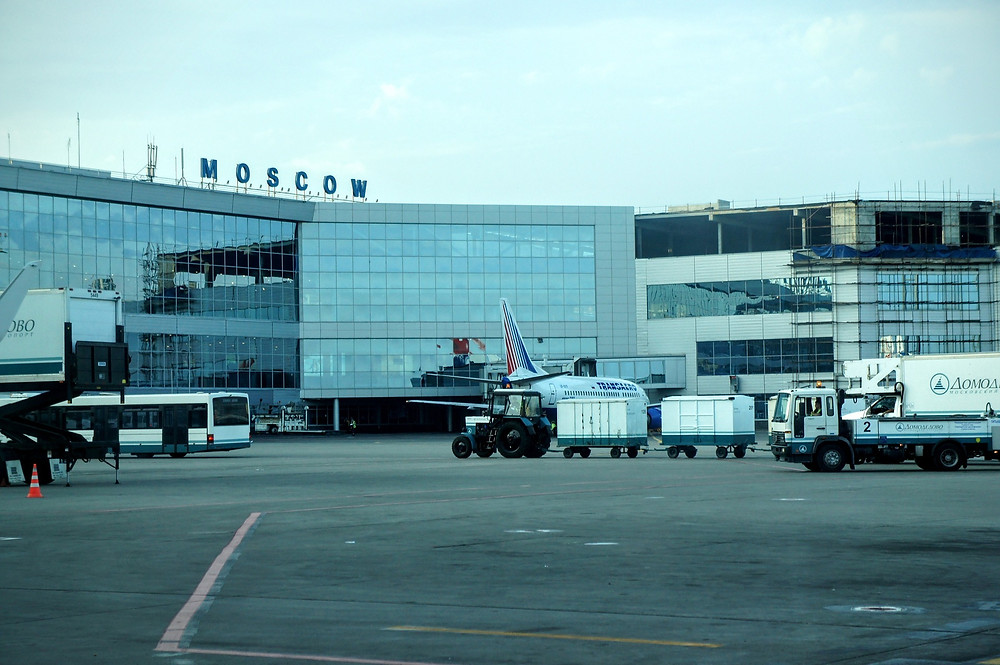 Moscow airport