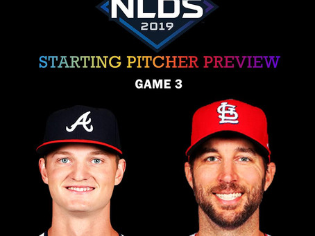 2019 NLDS Game 3 Pitching Preview