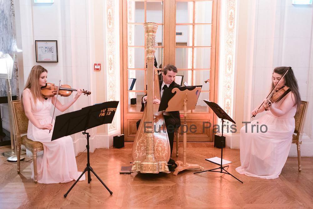 Euterpe Paris Trio à cordes à Shnagri La Paris