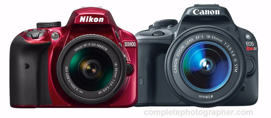 Easy steps to select a good DSLR camera