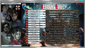 Resident Evil 2 Biohazard Re2, Editor Edition, Cheat, Software, Software, cloudend studio, galth, cheat, trainer, code, mod, software, steam, pc, youtube, tricks, engaños, トリック, 騙します, betrügen, trucchi, pokemon, dragon ball xenoverse, playerunknown's battlegrounds, fortnite, counter strike, ign, multiplayer.it, eurogamer, game source, final fantasy, dark souls, monster hunter, nintendo, ps4, ps5, xbox, nba, blizzard, world of warcraft, twich, facebook, windows, rocket league, gta, gta 5, gta 6, call of duty, gamesradar, metacritic, collector edition, anime, manga, fifa, pes, f1, game, instagram, twitter, streaming, cheat happens, One Piece, Naruto, One Piece World Seeker, 24/04/2019
