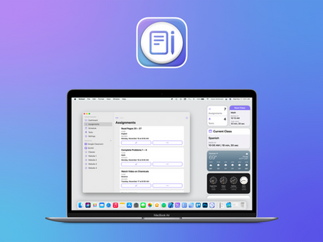 School Assistant Version 2 Now on Mac
