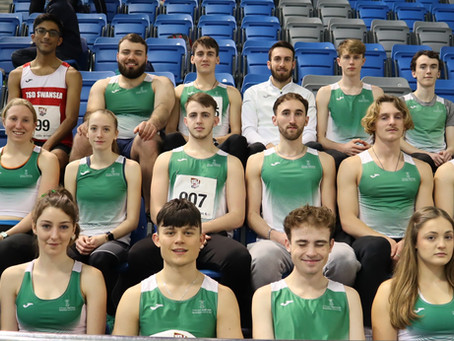 Club shortlisted for two awards at the Swansea University Sports Awards