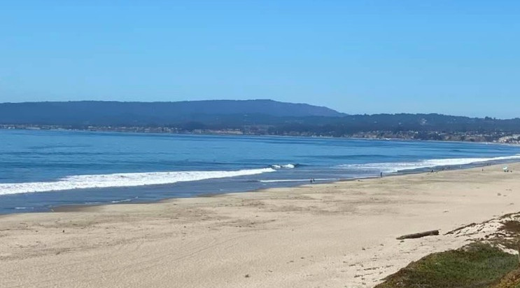 Inspiring Morning on the Broad Beach