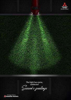 Mitsubishi Christmas Ad