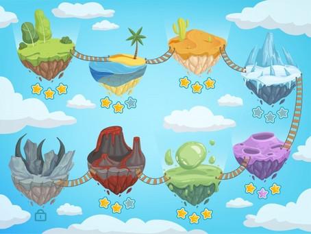DRAMA GAMES - Islands & Sharks - age 5-7s
