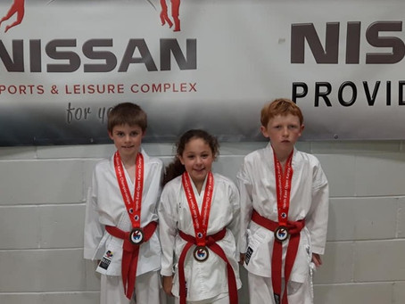 Tough day for the York Karate Squad at the North East Open