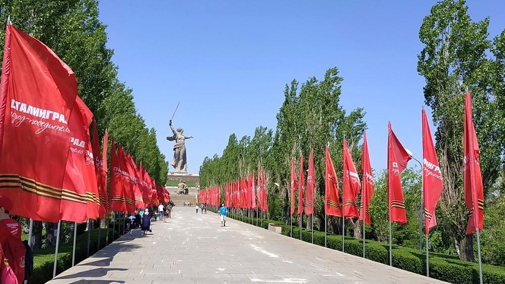 מאמייב קורגן, וולגוגרד, סטלינגרד, אנדרטת ניצחון הצבא הרוסי על הנאצים