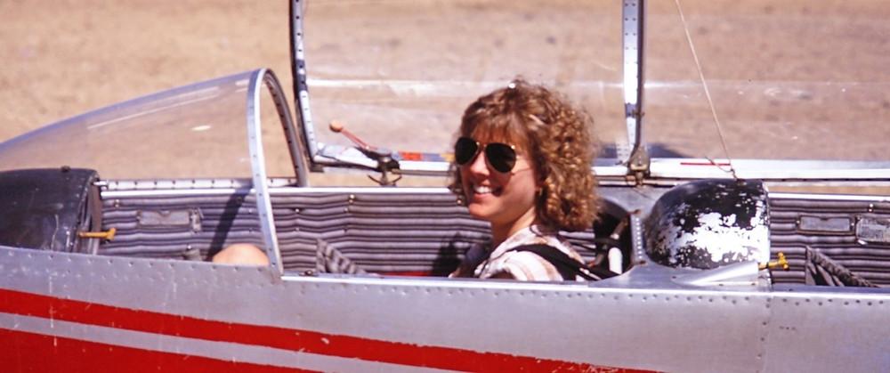 Still from Where is Nancy? showing Nancy Paulikas.