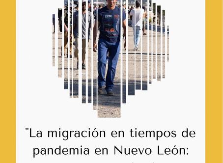 Alumnos de la UDEM elaboran significativo documento sobre la Migración en tiempos de pandemia