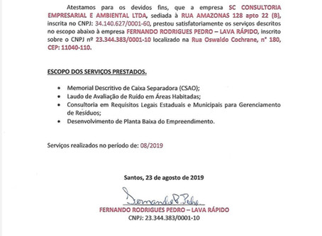 Atestado de Capacidade Técnica_Fernando Rodrigues Pedro_Lava Rápido.