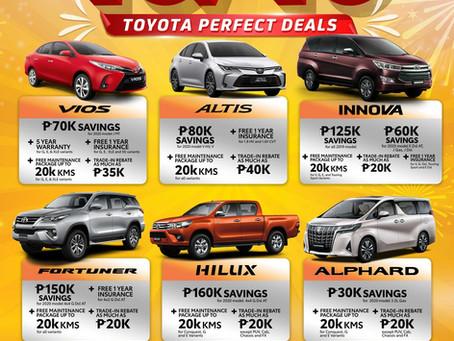 Toyota 10/10 Big Deals, Bigger Savings!