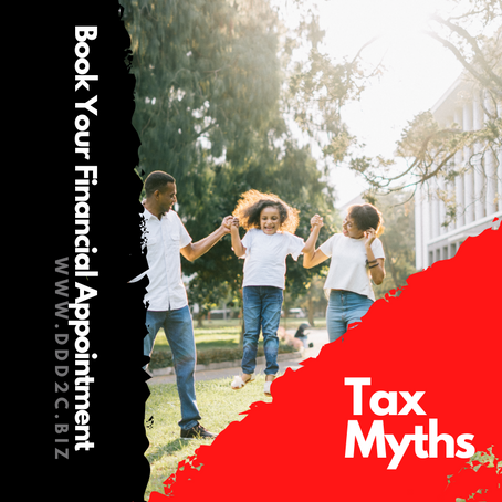 Tax Myths For Business Owner's