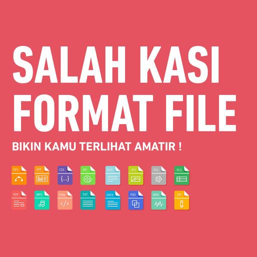 Penjelasan Format File Dalam Graphic Design