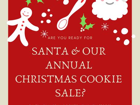 Santa & Christmas Cookie Sale!