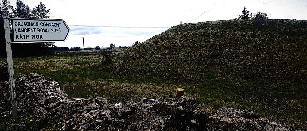 Rath Mor at Cruachan, home of legendary Queen Medb. (c) Ali Isaac