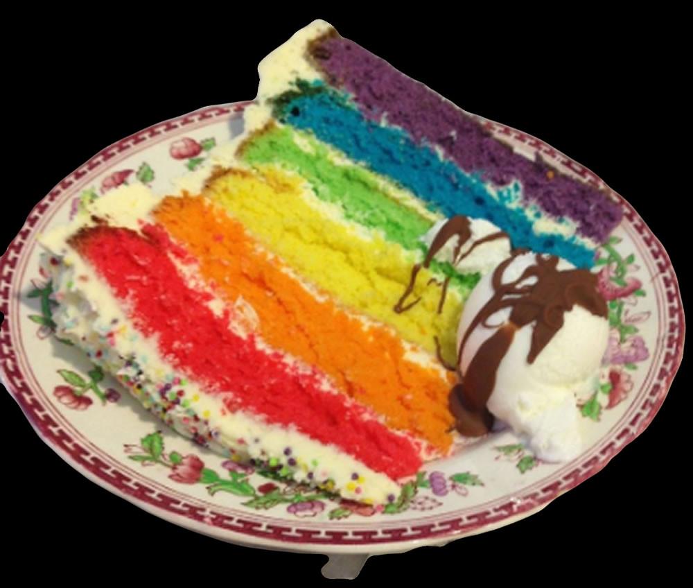 cake ole Rainbow cake