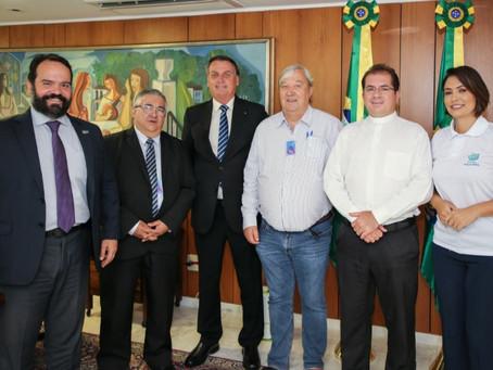 Michelle e Jair Bolsonaro reforçam apoio às comunidades terapêuticas