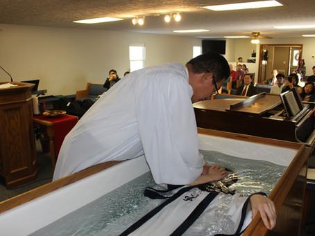 최윤지 자매님 침례식