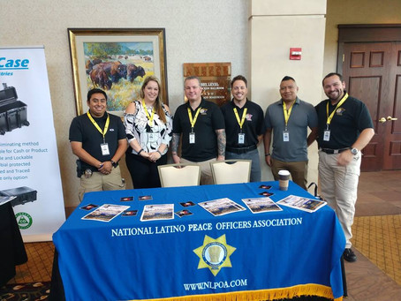 Members of the NLPOA-MN Chapter arrived at the 45th Annual NLPOA National Convention