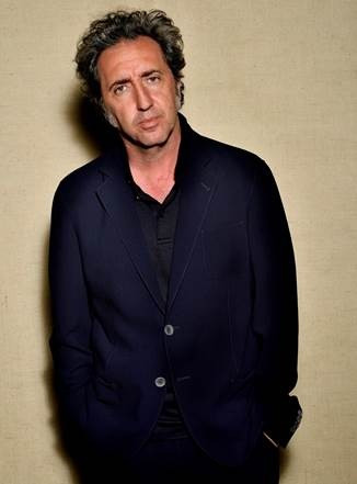 A photo showing Paolo Sorrentino