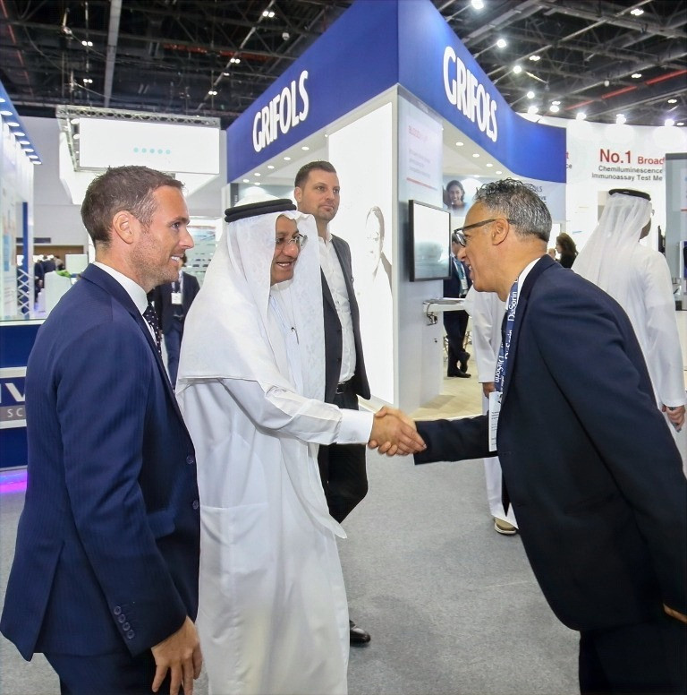 Director General of the Dubai Health Authority inaugurates 19th edition of Medlab Middle East
