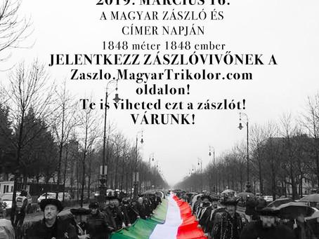 Magyar Zászló és Címer napja - március 16.