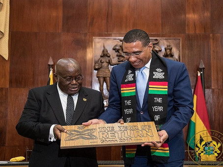 Jamaica signs visa waiver agreement with Ghana