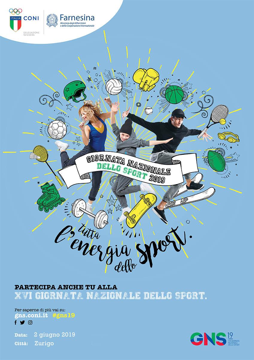 Giornata Nazionale dello Sport promossa dal CONI