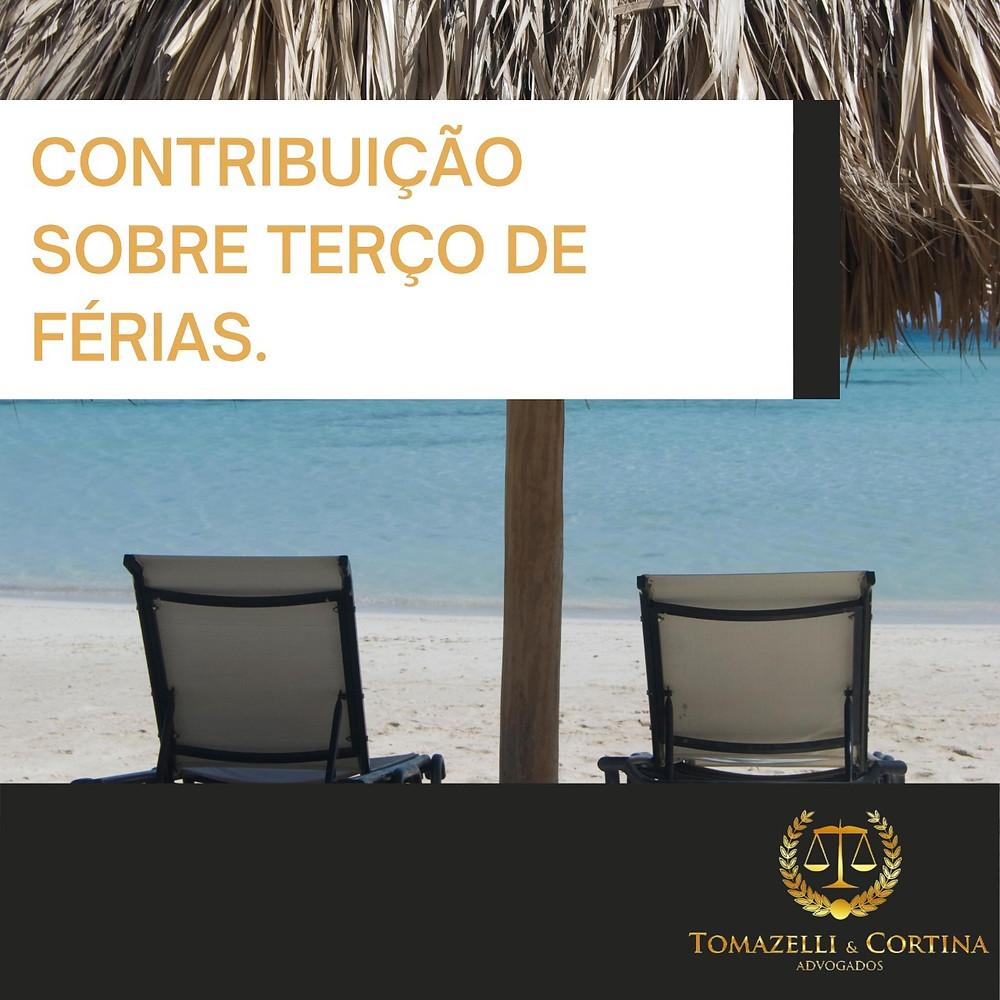 contribuição sobre terço de férias