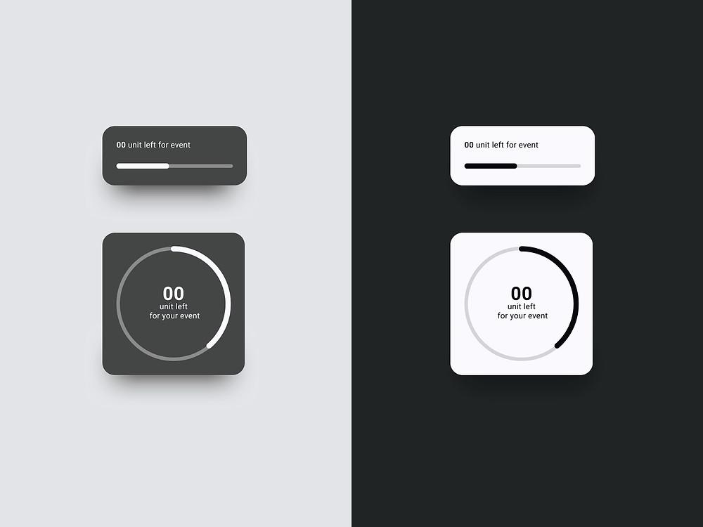 Countdown Component – Nube UI