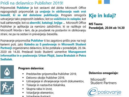 Naštej vse programe, ki so del paketa Microsoft Office in se nam pridruži!