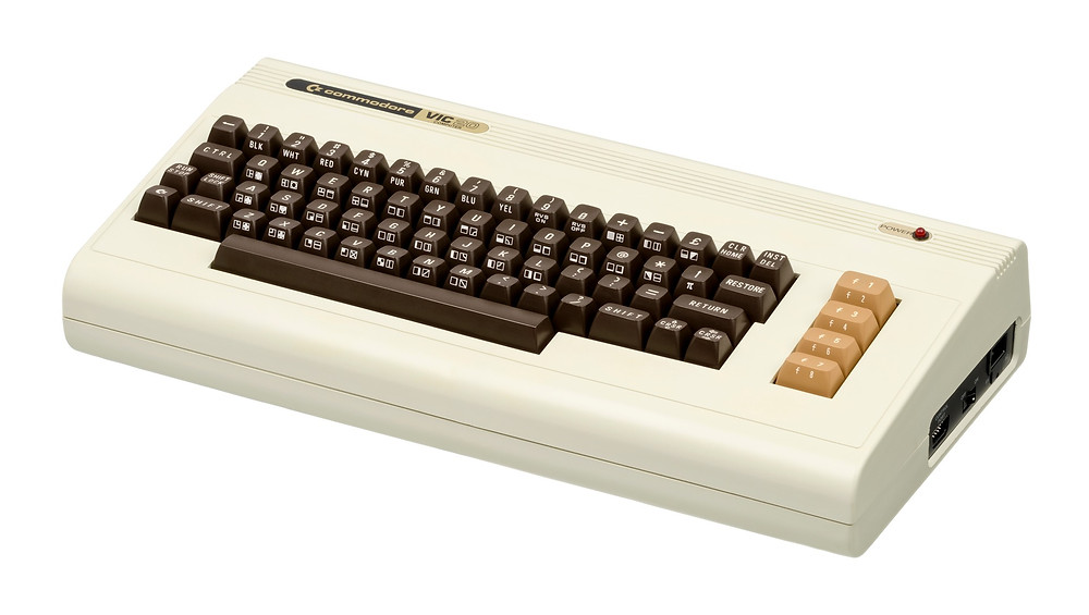 The Commodore VIC-20 home computer – the ancestor of the C64