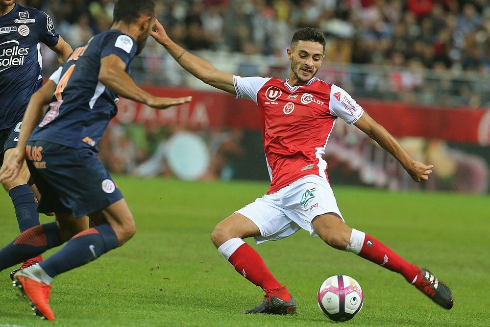 Le Stade de Reims contre Montpellier