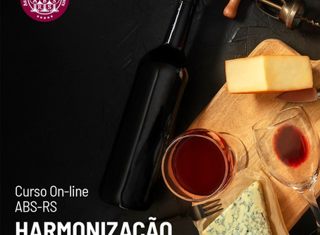 ABS-RS lança inédito curso on-line sobre harmonização de vinho e comida