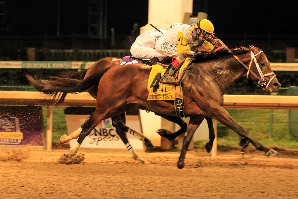 Seeking The Soul retired, won the Stephen Foster Stakes.