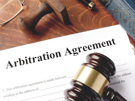 THE ESSENTIALS OF AN ARBITRATION AGREEMENT