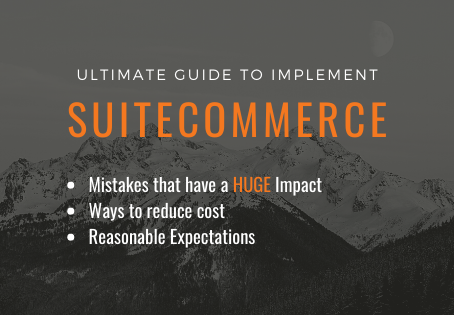 SuiteCommerce Ultimate Guide: Cost Factors of a SuiteCommerce Implementation