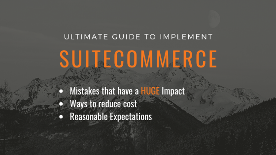 Ultimate Guide to SuiteCommerce and NetSuite ecommerce
