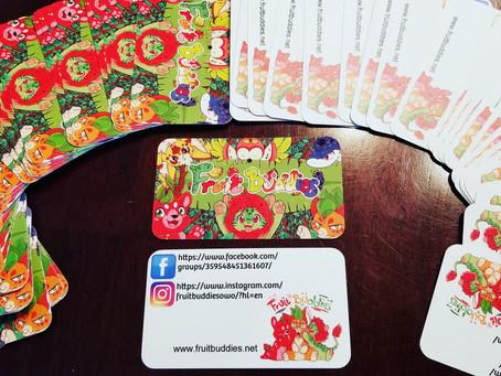 Fruit buddies cards!!