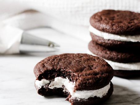 Earl Grey Sandwich Cookies (Vegan)