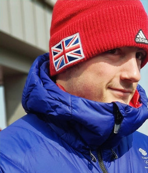 Nick Gleeson. GB's Youngest Bobsleigh Olympian, Reg Bloke, Owns A House Rabbit