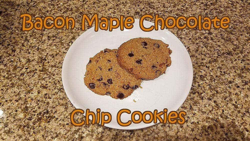 Keto Bacon Maple Chip Cookie Recipe