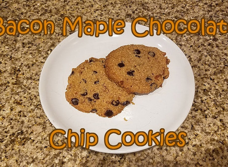 Keto Bacon Maple Chocolate Chip Cookies