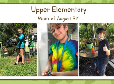 Upper El-- Week Three!